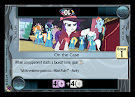 My Little Pony On the Case Marks in Time CCG Card