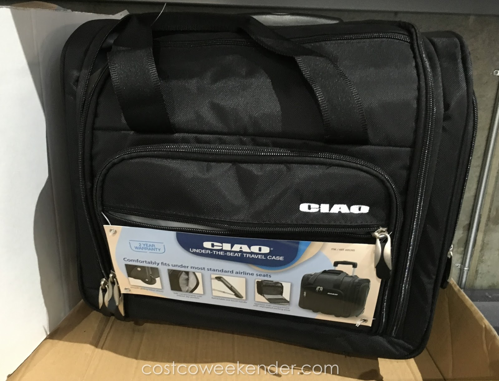 Ciao Under The Seat Travel Case Costco Weekender