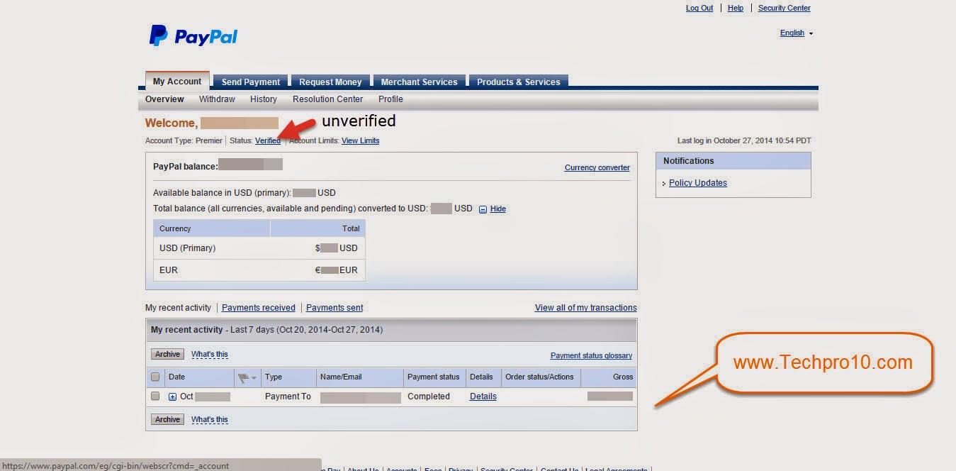 للمصريين طريقه الحصول علي بطاقه  Visa 4u  للانترنت وربطها بحساب PayPal الخاص بك .