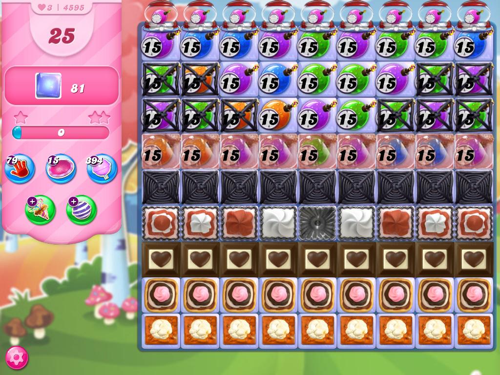 Candy Crush Saga level 4595