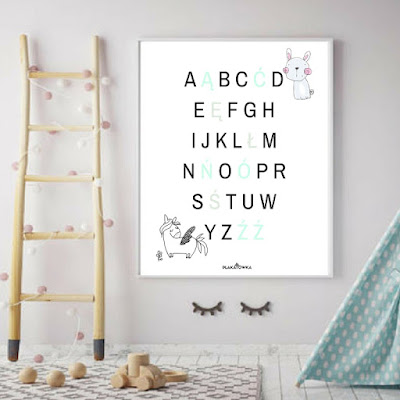 polski alfabet - plakaty do pobrania