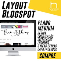 Layout Blogspot Medium