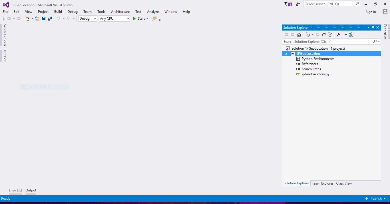 Visual Studio & Python: Importing Existing Project - Asma's Blog