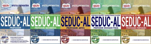 apostila professor Seduc AL 2017