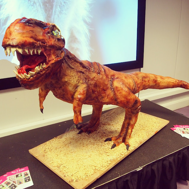 Dinosaur Cake by Mrs R Bakes for Paradise Wildlife Park World of Dinosaurs
