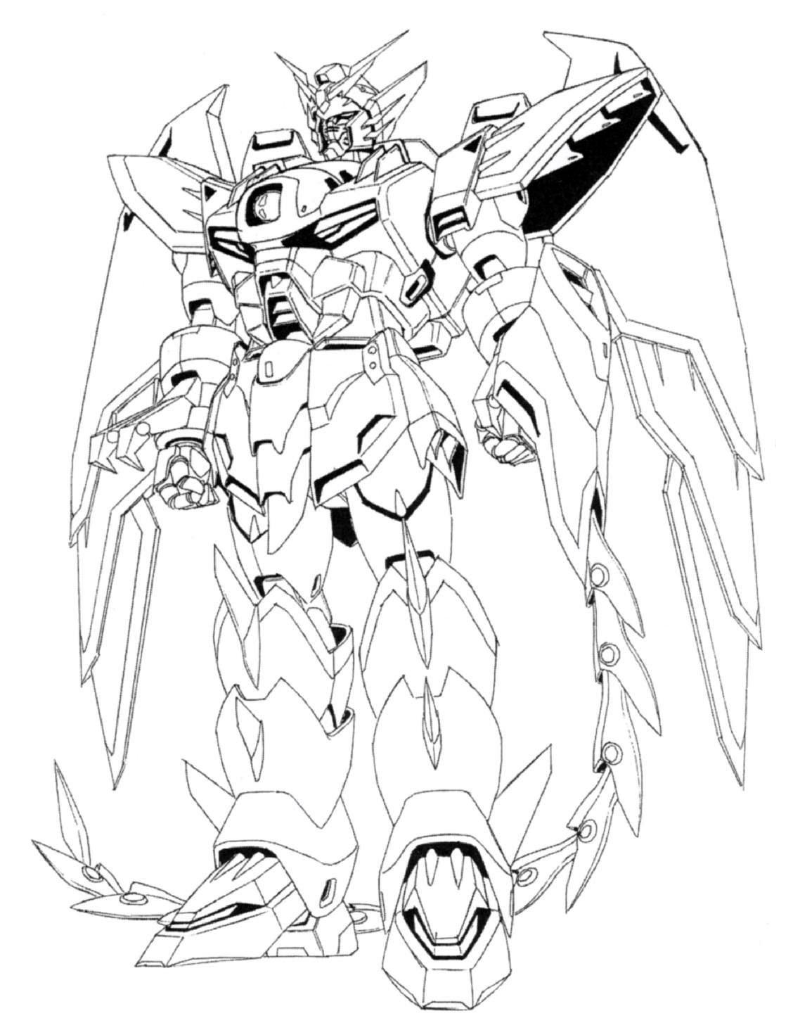 Masta Killa Territories Gundam Lineart Full Scale Gundam
