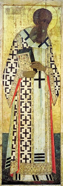 São Gregório - Andrei Rublev e suas pinturas ~ Bizantino