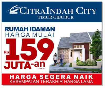 Harga Akan Naik, Segera Booking Rumah Idaman Anda di Citra Indah City