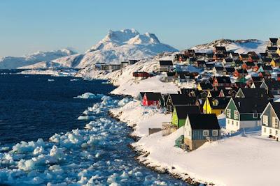 Kondisi Geografi, Iklim dan Topografi Greenland