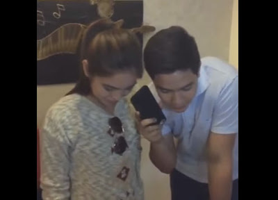 Alden and Maine talking to Lola Nidora and Tinidora