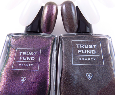 trust fund beauty swatches - the beauty puff