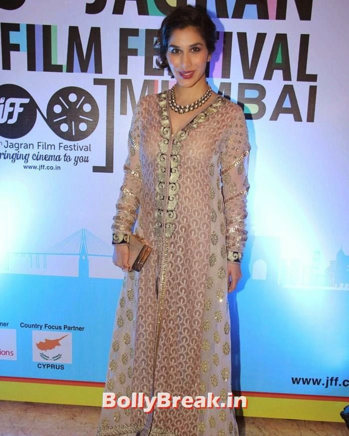 Sophie Choudry, 5th Jagran Film Festival Red Carpet Pics
