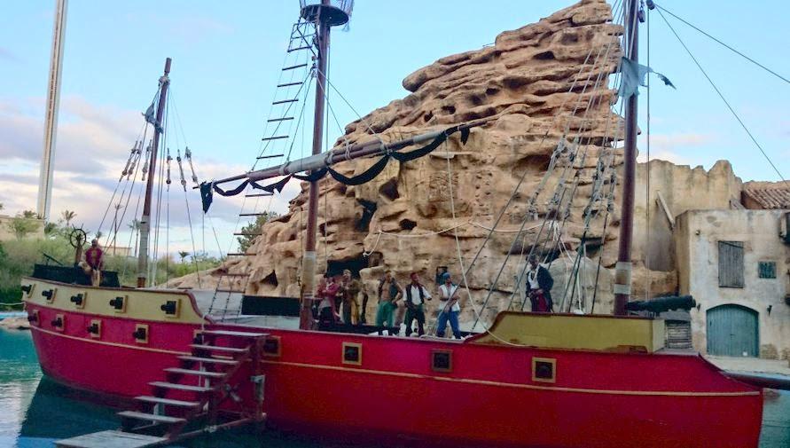 Iberia Park, Los Piratas del Caribe.