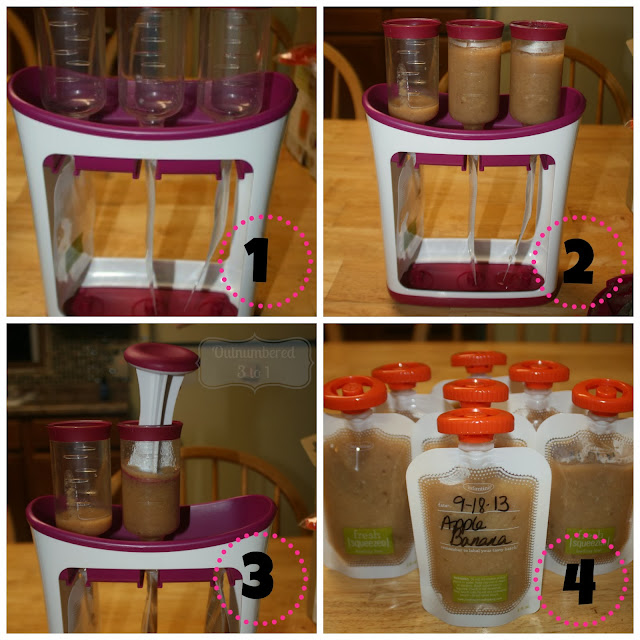 Infantino Fresh Squeezed Baby Food Syster