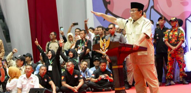 Prabowo: Mereka Anggap Rakyat Indonesia Bodoh, Bisa Dibohongi