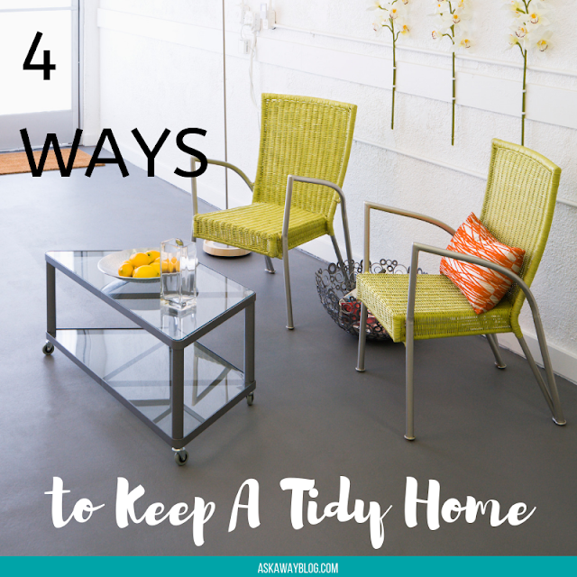 4 Ways to Keep A Tidy Home