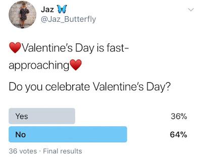 Valentine's Day Twitter Poll