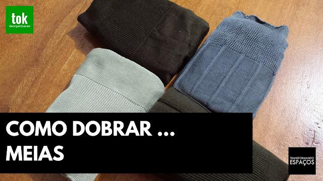 Como dobrar meias no estilo militar