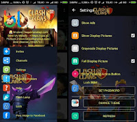 BBM MOD Whatsapp Clash of Clans 2.12.0.9 APK