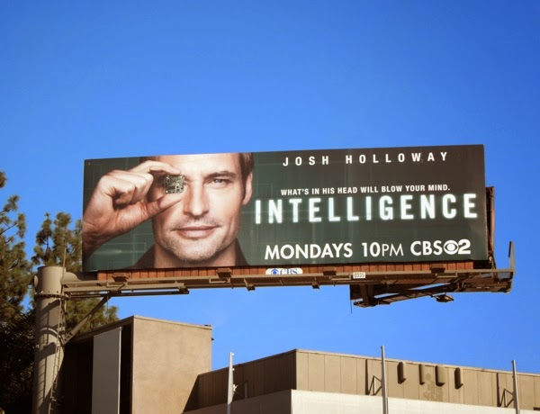 Intelligence series premiere billboard
