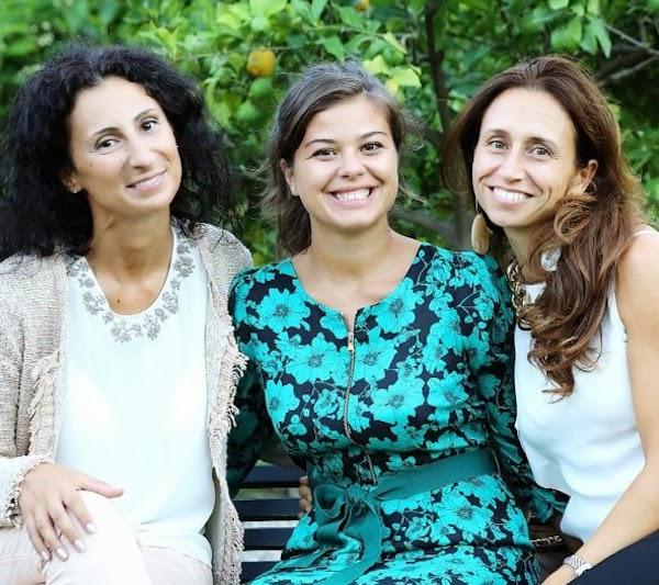 Fashion in Pfanner 2013 - da destra: Ilaria Mari, Claudia Gambacciani e Michela Vagnozzi