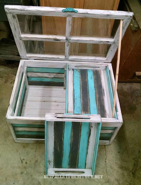 esta creacin es de kivid designs es una mesa con una superficie de vidrio similar a una ventana ideal como mesa de caf en su interior esconde dos