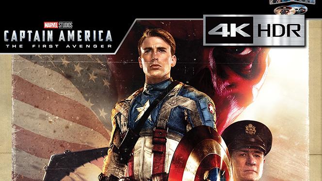 Capitán América: El primer vengador (2011) 4K UHD [HDR] Latino-Castellano-Ingles