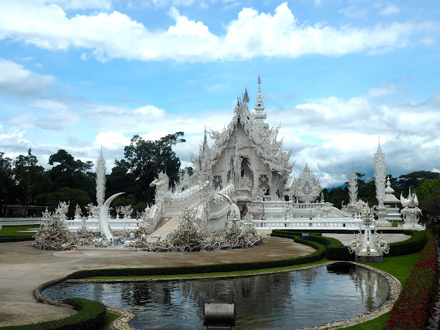 White Temple, Chiang Rai, north Thailand