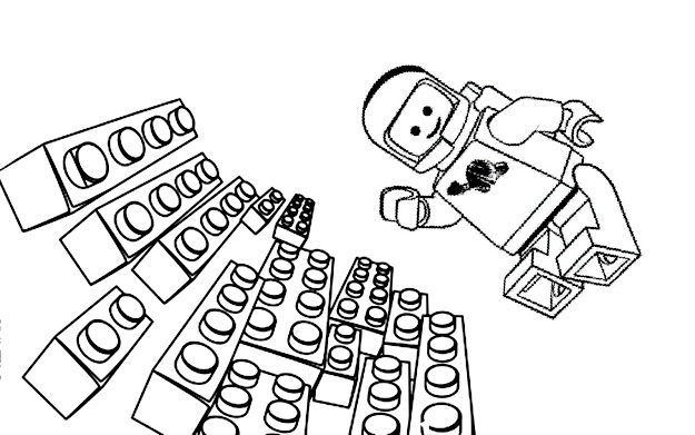 Free Lego Movie Coloring Pages For Kids