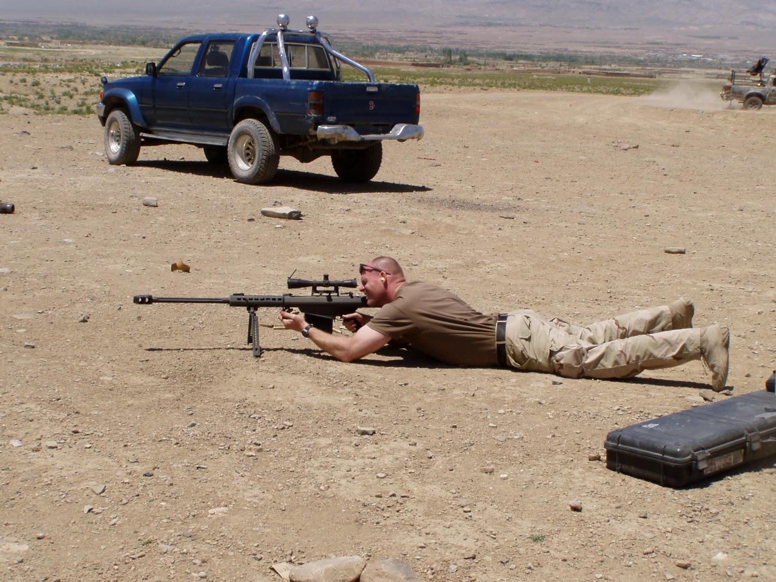Barrett M82 (M82A1, M82A3, M107)