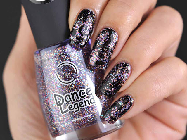 Dance Legend: 1065 CIRCUS-CIRCUS ( Las Vegas Collection )スタンピングネイル