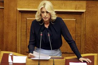 Η Άννα Καραμανλή για το σχέδιο νόμου:«Ελληνικό Ίδρυμα Έρευνας και Καινοτομίας και άλλες διατάξεις»