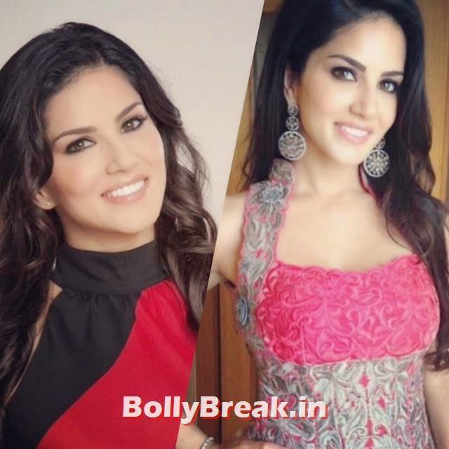 the one and only our baby doll sunny leone, she looks absolutely glamorouse