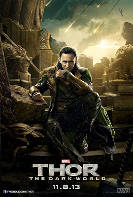 Thor: The Dark World Character Movie Posters - Tom Hiddleston as Loki