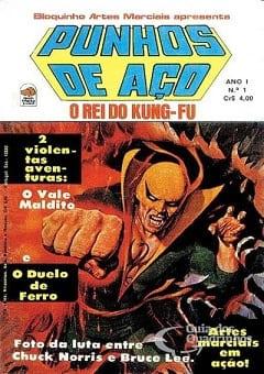 Punhos de Aço Quadrinhos Torrent Download capa