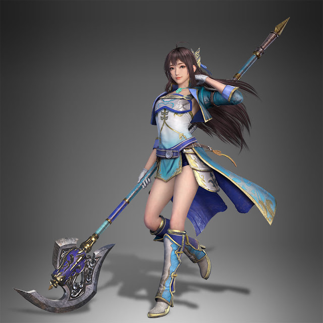 ซินเหียนเอ๋ง (Xin Xianying,辛宪英) จากเกมสามก๊ก Dynasty Warriors 9