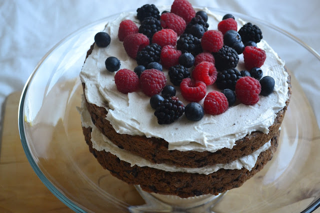 Nourish The Roots: Healthy Birthday Cake For A Special One