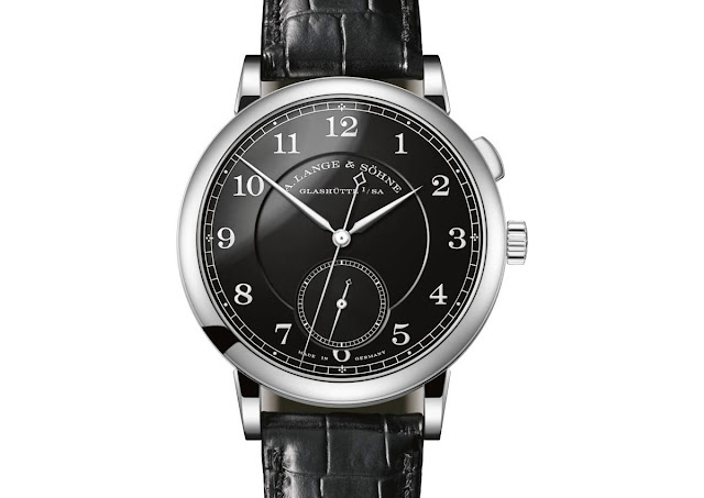 "The A. Lange & Söhne 1815 ""Homage to Walter Lange"" in stainless steel"