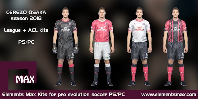 Cerezo Osaka PES Kits 2018