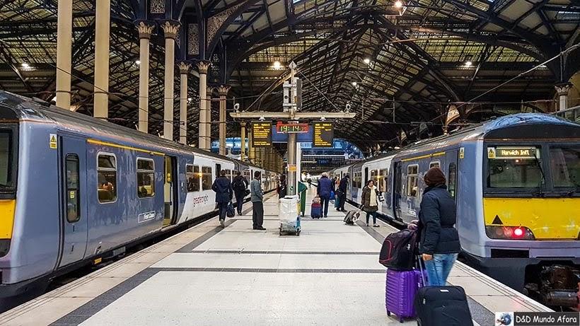 Estação de Liverpool, em Londres - De Londres a Amsterdam: como fazer o trajeto de navio