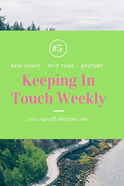 keeping in ouch weekly, ship tour, life, updates, cameroon, yaounde, douala, port,