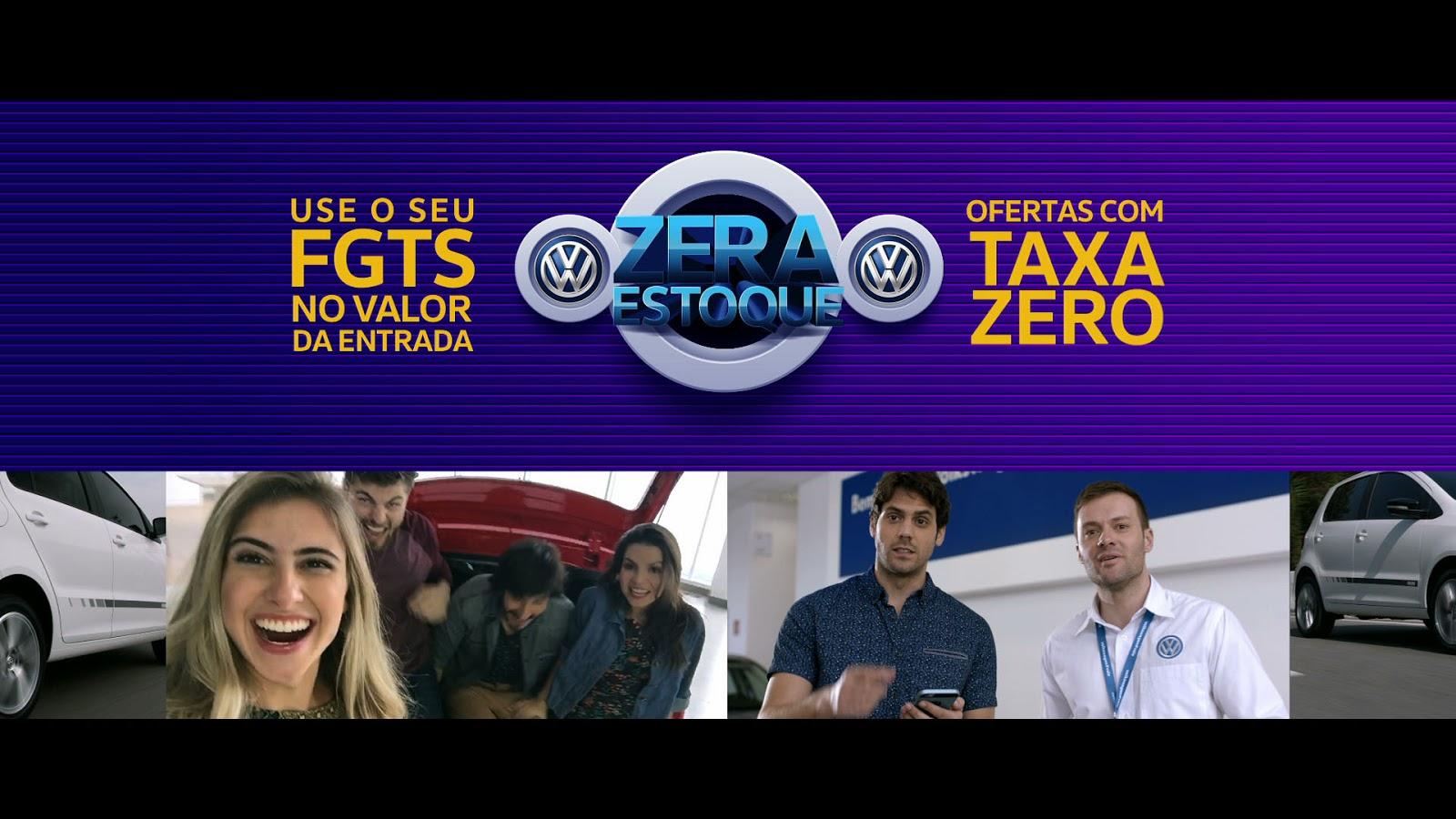 Volkswagen realiza operação Zera Estoque com facilidades para quem aproveitar o dinheiro do FGTS