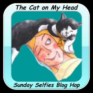 The Cat on My Head Sunday Selfies Blog Hop