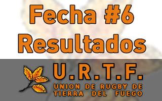 [URTF] Resultados: 1ra División - Fecha #6
