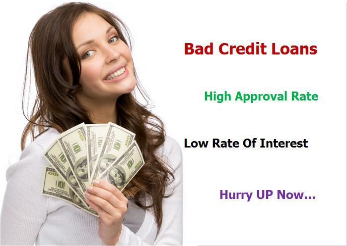 Low Credit Loans >> Bad Credit Loans