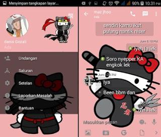 BBM Mod Hello Kitty Apk Versi 2.13.1.14 Clone 2016 Terbaru