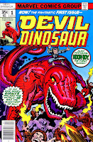 Devil Dinosaur v1 #1 marvel 1970s bronze age comic book cover art by Jack Kirby