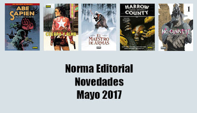 Norma Editorial / Novedades Mayo 2017