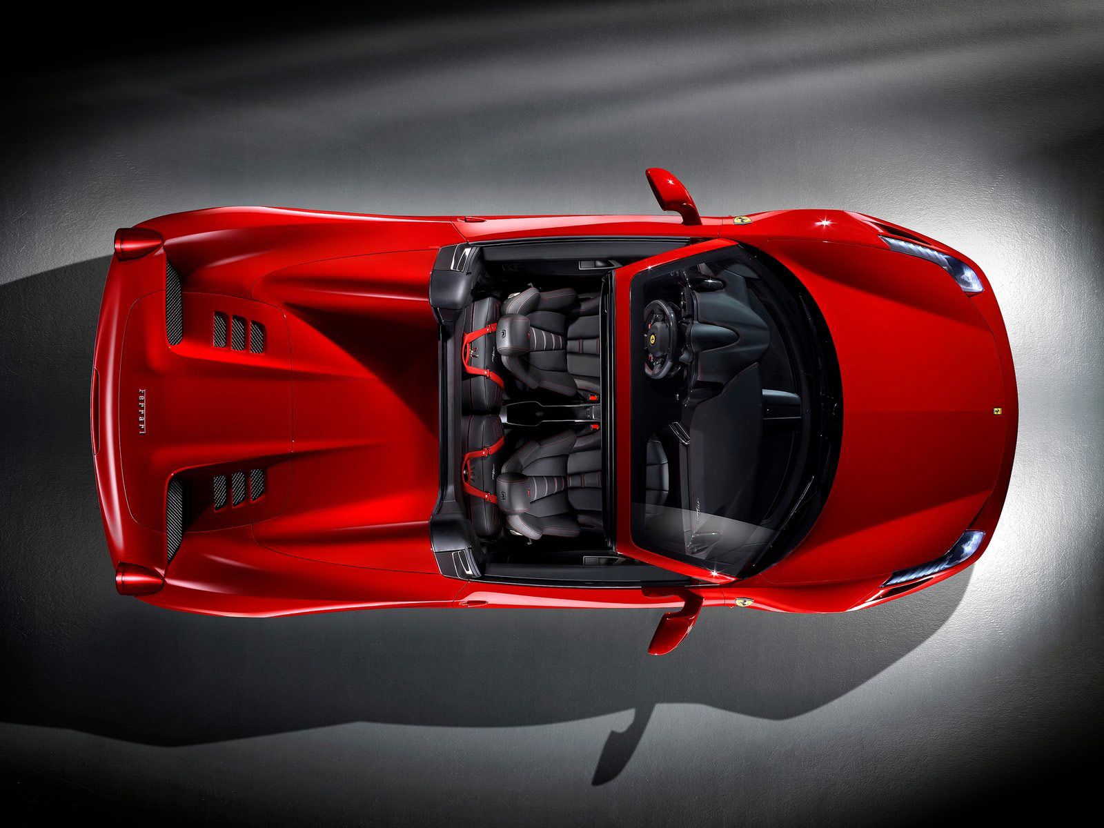 Gambar Mobil Ferrari: Foto Mobil Sport FERRARI 458 Spider 2013