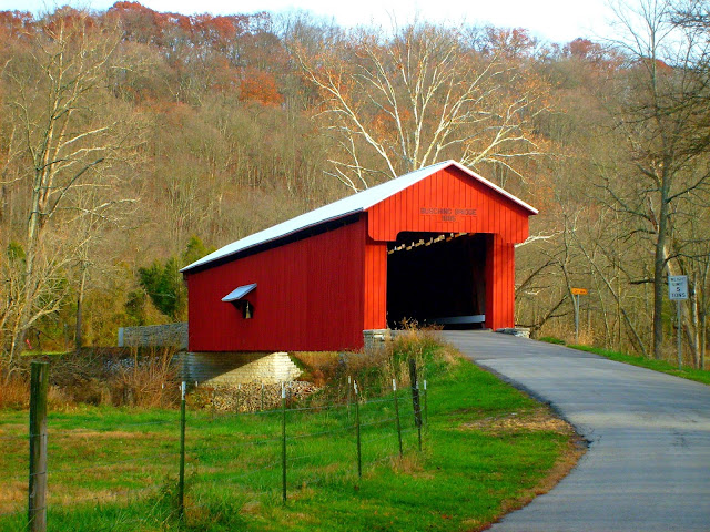 Busching Covered Bridge - Versailles, Ripley County, Indiana